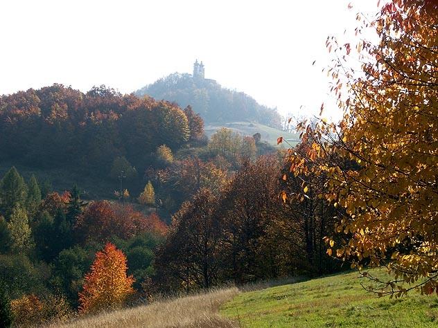 Banská Štiavnica - Kalvária v jeseni