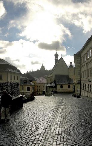 Banská Štiavnica po daždi