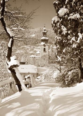 Banská Štiavnica v zime 1978