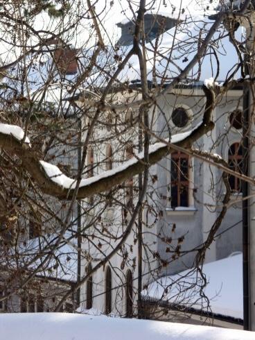 Banská Štiavnica v zime - Chemická škola
