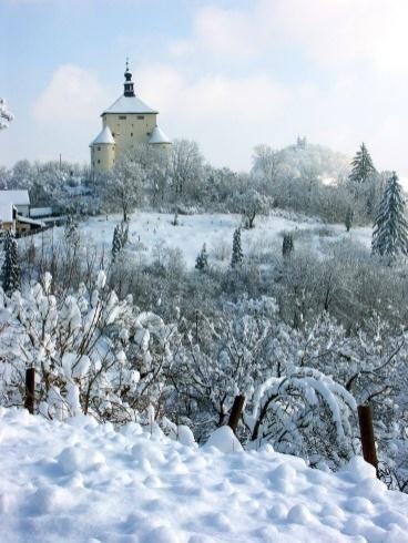 Banská Štiavnica v zime - Nový zámok
