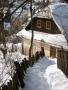 Banská Štiavnica v zime - Roháčov dom
