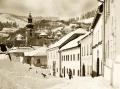Banská Štiavnica v zime - Ružová ulica