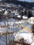 Banská Štiavnica v zime - z Ružovej