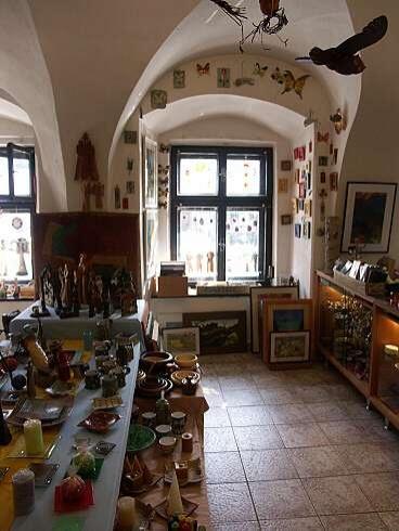 Diela a dielka slovenských výtvarníkov Banská Štiavnica