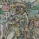 Autor: Igor LACKOVIČ, Názov diela: Bača so salamandrou, Technika: kolorovaná kresba tuškou, Motív: figurálne, akty, Rozmery: 16,8x9,8 cm, Rok: 2006