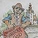 Autor: Igor LACKOVIČ, Názov diela: Náco, Technika: kolorovaná kresba tuškou, Motív: figurálne, akty, Rozmery: 15,5x11,5 cm, Rok: 2006