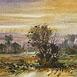Autor: Ján KUCHTA, Názov diela: Krajina IV, Technika: akvarel - nerámované - bez pasparty, Motív: krajina, architektúra, Rozmery: 45x65,5, Rok: 0