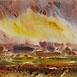 Autor: Ján KUCHTA, Názov diela: Krajina XVI, Technika: akvarel - nerámované - bez pasparty, Motív: krajina, architektúra, Rozmery: 43x61 cm, Rok: 0