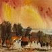 Autor: Ján KUCHTA, Názov diela: Krajina IX, Technika: akvarel - nerámované - bez pasparty, Motív: krajina, architektúra, Rozmery: 43x61 cm, Rok: 0
