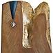 Autor: Arpád PÁL, Názov diela: Medajla za vernosť, Technika: kombinácia techník, drevorezba, maľba, zlátenie, Motív: abstraktné, Rozmery: 49x35 cm, Rok: 2008