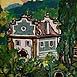 Autor: Igor LACKOVIČ, Názov diela: Piarska brána, Technika: maľba akrylom, Motív: krajina, architektúra, Rozmery: 20x12 cm, Rok: 2008