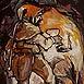 Autor: Igor LACKOVIČ, Názov diela: Haviar zo 17. storočia, Technika: maľba akrylom, Motív: figurálne, akty, Rozmery: 20,5x12 cm, Rok: 2008