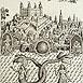 Autor: Peter KĽÚČIK, Ak. maliar, Názov diela: Bratislava II, Motív: ostatné nezaradené, Rozmery: 16,5x11,5cm, Rok: 2001