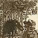 Autor: Peter KĽÚČIK, Ak. maliar, Názov diela: Mladé Letá 1985, Technika: lept, Motív: figurálne, akty, Rozmery: 13x11 cm, Rok: 1985