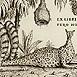 Autor: Peter KĽÚČIK, Ak. maliar, Názov diela: Ex Libris Fero Hulín, Technika: lept, Motív: ostatné nezaradené, Rozmery: priemer 13 cm, Rok: 2000