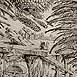 Autor: Peter KĽÚČIK, Ak. maliar, Názov diela: Obchodník s dažďom, Technika: lept, Motív: ostatné nezaradené, Rozmery: 17,5x27,5 cm, Rok: 1989