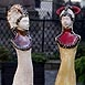 Autor: Gabriela VIDOVÁ, Názov diela: Dáma, Technika: Keramická plastika, Motív: figurálne, akty, Rozmery: 45 cm, Rok: 2009