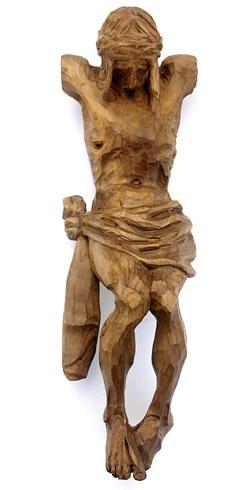 Jozef ŠÍMA - Korpus Krista  (2009), Technika: drevorezba, Rozmery: 36 cm