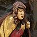 Autor: Viera  ŠMIDÁKOVÁ, Názov diela: Malý Apoštol, Technika: Polychromovaná epoxidová kópia, Motív: figurálne, akty, Rozmery: 20x12 cm, Rok: 0
