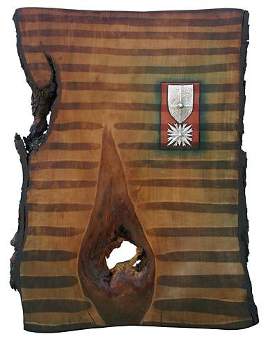Arpád PÁL - Za vernosť (2011), Technique: kombinácia techník, Size: 55x40 cm