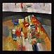 Autor: Ján KUCHTA, Názov diela: Kompozície, Technika: Olejomaľba, Motív: abstraktné, Rozmery: 28x28 cm, Rok: 2009