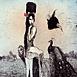 Autor: Katarína VAVROVÁ, Akademická maliarka, Názov diela: V nebi ako z kameňa, Technika: ručne kolorovaný lept, Motív: figurálne, akty, Rozmery: 29,5x29,5cm, Rok: 2011