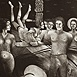 Autor: Naďa RAPPENSBER- GEROVÁ - JANKOVIČOVÁ, Ak. maliar, Názov diela: Príbehy nočné X, Technika: litografia, Motív: figurálne, akty, Rozmery: 31x19,5 cm, Rok: 2003