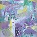 Autor: Jozef KAMINSKÝ, Názov diela: Panoráma Banskej Štiavnice, Technika: olej, Motív: krajina, architektúra, Rozmery: 31,5x17,5 cm, Rok: 2011