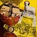 Autor: Milan KRAJČO, Ak. maliar, Názov diela: Baránok II, Technika: kombinovaná technika, Motív: abstraktné, Rozmery: 48x38cm, Rok: 2002