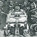 Autor: Dušan POLAKOVIČ, Akademický maliar, Názov diela: E.Rotterdamský - Chvála bláznivosti, Technika: lept, Motív: figurálne, akty, Rozmery: 49x26 cm, Rok: 1984