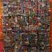 Autor: Ján KUCHTA, Názov diela: Rytmy, čiary, čísla, Technika: kombinovaná technika, Motív: abstraktné, Rozmery: 86x60 cm, Rok: 1996