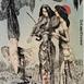 Autor: Katarína VAVROVÁ, Akademická maliarka, Name of work: Ex Libris K.Vavrová - Hudba, Technique: ručne kolorovaný lept, Motif: figured, nudes, Size: 12,5x10 cm, Year: 2012