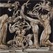 Autor: Igor PIAČKA, Akademický maliar, Name of work: Delenie, Technique: suchá ihla, mezotinta, Motif: figured, nudes, Size: 22,5x34 cm, Year: 1992
