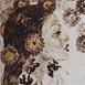 Autor: Júlia PIAČKOVÁ, Akademická maliarka, Názov diela: Cinquanta Fiori, Technika: suchá ihla, mezotinta, Motív: figurálne, akty, Rozmery: 28x14 cm, Rok: 2011