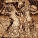 Autor: Igor PIAČKA, Akademický maliar, Názov diela: Nové staré idoly, Technika: suchá ihla, mezotinta, Motív: figurálne, akty, Rozmery: 12x12 cm, Rok: 1996