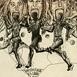 Autor: Igor PIAČKA, Akademický maliar, Názov diela: Bežec, Technika: suchá ihla, Motív: figurálne, akty, Rozmery: 12x12 cm, Rok: 1998
