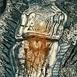 Autor: Igor PIAČKA, Akademický maliar, Názov diela: Objatie, Technika: suchá ihla, mezotinta, Motív: figurálne, akty, Rozmery: 11x8,5 cm, Rok: 1997