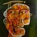 Autor: Fero LIPTÁK, Názov diela: Hlavná vec, Technika: akryl, Motív: figurálne, akty, Rozmery: 110x130 cm, Rok: 0