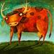 Autor: Fero LIPTÁK, Názov diela: Kravina, Technika: akryl, Motív: figurálne, akty, Rozmery: 100x120 cm, Rok: 0