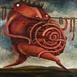 Autor: Fero LIPTÁK, Názov diela: Kráľ Ubu, Technika: akryl, Motív: figurálne, akty, Rozmery: 100x100 cm, Rok: 0