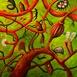 Autor: Fero LIPTÁK, Názov diela: Kabinet kuriozít, Technika: akryl, Motív: figurálne, akty, Rozmery: 80x80 cm, Rok: 0