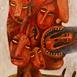 Autor: Fero LIPTÁK, Názov diela: Hlavonožec, Technika: akryl, Motív: figurálne, akty, Rozmery: 110x55 cm, Rok: 0