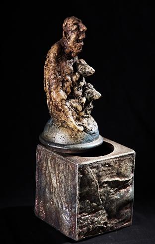 Vlado ORAVEC, akademický sochár - Je na svete niečo... (2012), Technique: kamenina