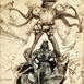 Autor: Igor PIAČKA, Akademický maliar, Názov diela: Kráľ a kráľovná, Technika: suchá ihla, Motív: figurálne, akty, Rozmery: 20x15 cm, Rok: 1998