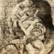 Autor: Igor PIAČKA, Akademický maliar, Názov diela: Kríza stredného veku, Technika: suchá ihla, mezotinta, Motív: figurálne, akty, Rozmery: 14x10 cm, Rok: 2009