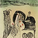 Autor: Katarína VAVROVÁ, Akademická maliarka, Name of work: Andersen II Palculienka, Technique: ručne kolorovaný lept, Motif: figured, nudes, Size: 14,5x14,5 cm, Year: 2013
