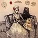Autor: Katarína VAVROVÁ, Akademická maliarka, Name of work: Andersen II Palculienka I, Technique: ručne kolorovaný lept, Motif: figured, nudes, Size: 14,5x14,5 cm, Year: 2013