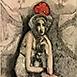 Autor: Katarína VAVROVÁ, Akademická maliarka, Názov diela: Zajačik, Technika: ručne kolorovaný lept, Motív: krajina, architektúra, Rozmery: 15x10 cm, Rok: 2013