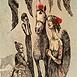 Autor: Katarína VAVROVÁ, Akademická maliarka, Name of work: Anjel I, Technique: ručne kolorovaný lept, Motif: figured, nudes, Size: 20,5x14 cm, Year: 2013